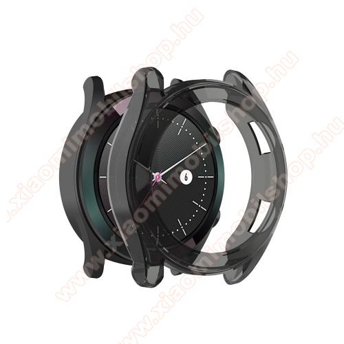 Okosóra szilikontok - SZÜRKE - HUAWEI Watch GT 46mm / HUAWEI Watch GT 2 46mm / HONOR Magicwatch 2 46mm