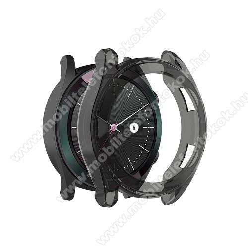 Okosóra szilikontok - SZÜRKE - HUAWEI Watch GT 46mm / HUAWEI Watch GT 2 46mm