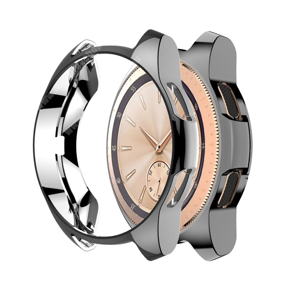 Okosóra szilikontok - SZÜRKE - SAMSUNG Galaxy Watch 46mm / SAMSUNG Gear S3 Frontier
