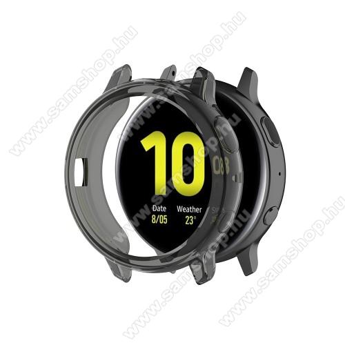 SAMSUNG Galaxy Watch Active2 44mmOkosóra szilikontok - SZÜRKE - SAMSUNG Galaxy Watch Active2 44mm