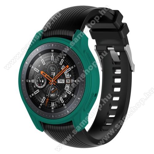 SAMSUNG Galaxy Watch 46mm (SM-R800NZ)Okosóra szilikontok - ZÖLD - SAMSUNG Galaxy Watch 46mm / SAMSUNG Gear S3 Frontier
