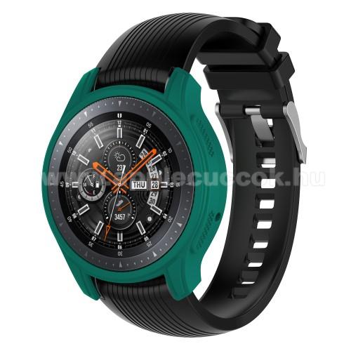 Okos�ra szilikontok - Z�LD - SAMSUNG Galaxy Watch 46mm / SAMSUNG Gear S3 Frontier