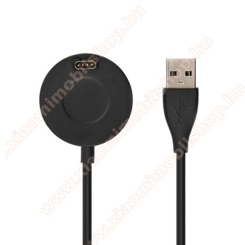 Okosóra töltő / USB töltő - 1m kábel, 5V / 500mA - Garmin Fenix 5 / Garmin Fenix 5S / Garmin Fenix 5X Plus