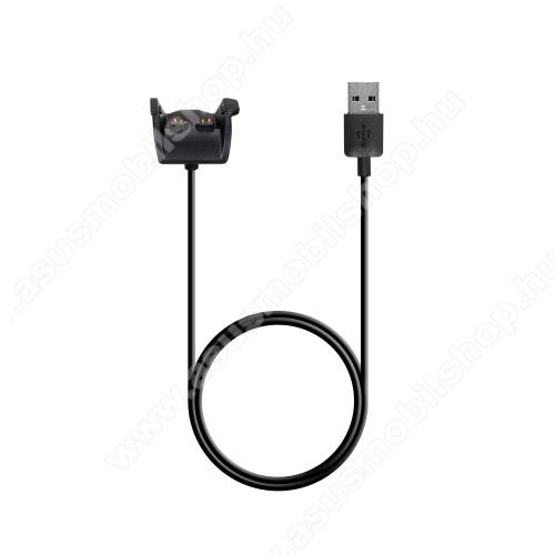 Okosóra töltő / USB töltő - 1m kábel, 5V / 700mA - Garmin Vivosmart HR / Garmin Vivosmart HR+