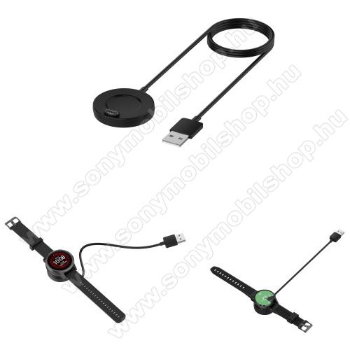 Okosóra töltő / USB töltő - 1m kábel - Garmin Fenix 5 / 5S / 5X / 5X Plus / 5X Plus Sapphire / 6X / 6X Sapphire / 6X Pro / 6X Pro Solar / 6X Pro Sapphire / Garmin Forerunner 935 / Vivoactive 3/ 3 Music / Vivosport