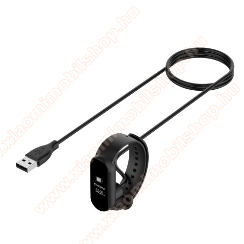 Okosóra töltő / USB töltő - 50cm - Xiaomi Mi Band 5