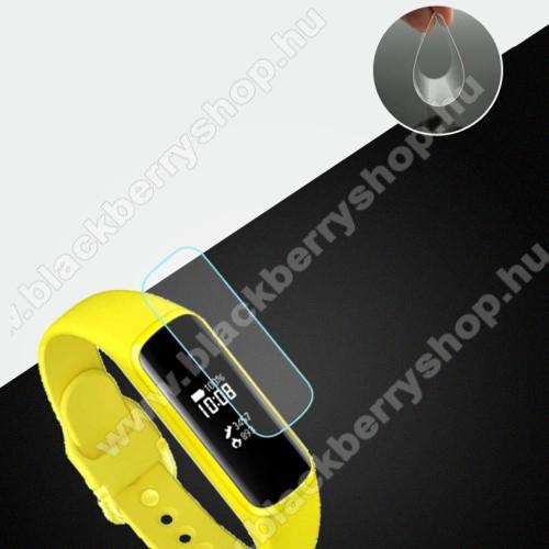 Okosóra TPU képernyővédő fólia - Clear - 1db, törlőkendővel - A TELJES ELŐLAPOT VÉDI! - SAMSUNG SM-R375 Galaxy Fit e