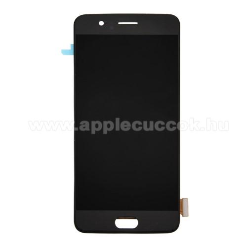 OnePlus 5 kijelz? �rint?panellel - FEKETE - GY�RI