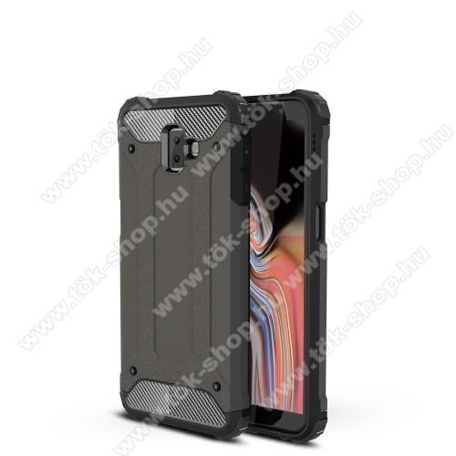 OTT! MAX DEFENDER műanyag védő tok / hátlap - BRONZ - szilikon belső, ERŐS VÉDELEM! - SAMSUNG SM-J610F Galaxy J6+