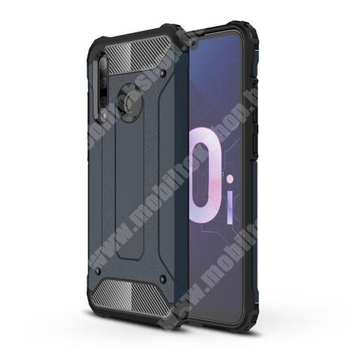 OTT! MAX DEFENDER műanyag védő tok / hátlap - SÖTÉTKÉK - szilikon belső, ERŐS VÉDELEM! - HUAWEI P Smart+ (2019) / HUAWEI Honor 10i / HUAWEI Enjoy 9s / HUAWEI nova 4 lite