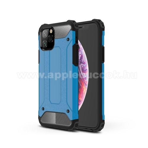 OTT! MAX DEFENDER műanyag védő tok / hátlap - VILÁGOSKÉK - szilikon belső, ERŐS VÉDELEM! - APPLE iPhone 11 Pro