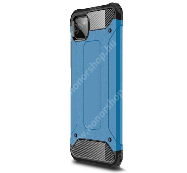 OTT! MAX DEFENDER műanyag védő tok / hátlap - VILÁGOSKÉK - szilikon belső, ERŐS VÉDELEM! - SAMSUNG Galaxy A22 5G (SM-A226)