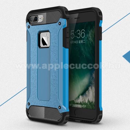 APPLE iPhone 7 PlusOTT! MAX DEFENDER műanyag védő tok / hátlap - KÉK - szilikon belső, ERŐS VÉDELEM! - APPLE iPhone 7 Plus (5.5)