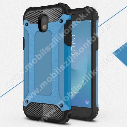 OTT! MAX DEFENDER műanyag védő tok / hátlap - VILÁGOSKÉK - szilikon belső, ERŐS VÉDELEM! - SAMSUNG SM-J530 Galaxy J5 (2017)