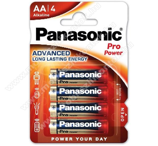 PANASONIC Elem (AA, LR6PPG, 1.5V, Ceruza) 4db / csomag
