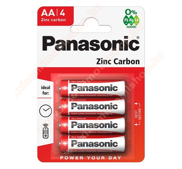 PANASONIC Elem (AA, R6RZ, 1.5V) 12db / csomag