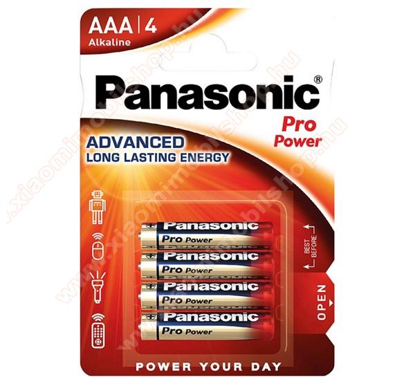 PANASONIC Elem (AAA, LR03PPG, 1,5V, Micro) 4db /csomag