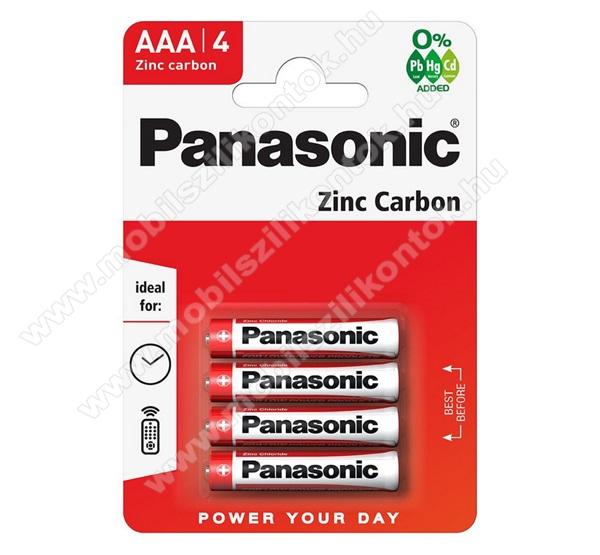 PANASONIC Elem (AAA, micro, 1.5V) 4db / csomag
