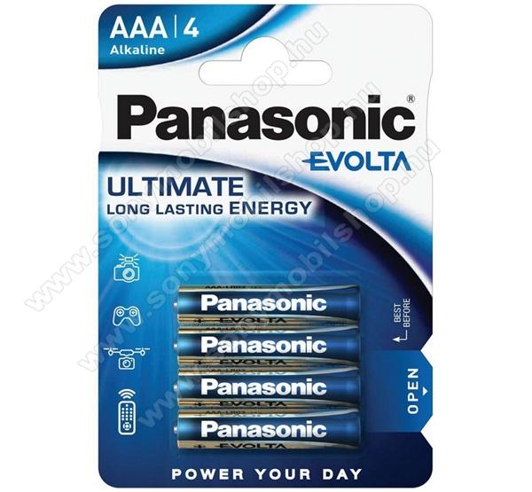 PANASONIC Elem (AAA, micro, LR03EGE, 1.5V) 4db / csomag