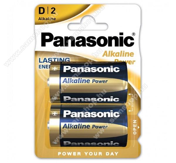 PANASONIC Elem (Alkaline Power, 1.5V, alkáli/tartós) 2db /csomag
