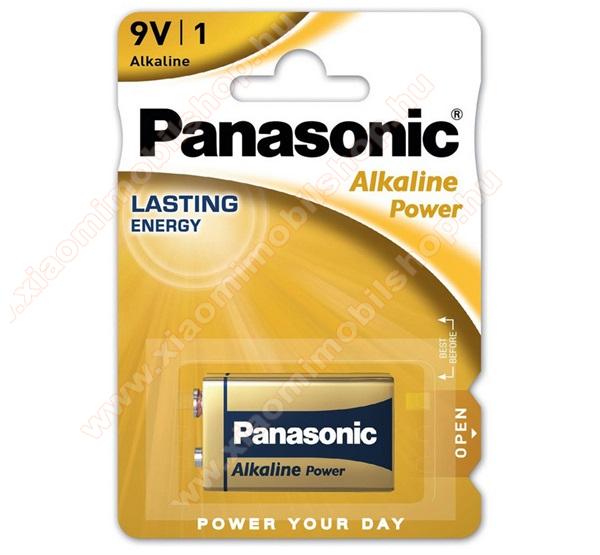 PANASONIC Elem (Alkaline Power, 9V, alkáli / tartós) 1db / csomag
