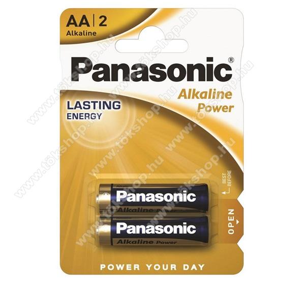 PANASONIC Elem (Alkaline Power AA ceruza, 1.5V, alkáli/tartós elem) 2db /csomag