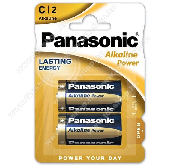 PANASONIC Elem (Alkaline Power C/baby, 1.5V, alkáli/tartós elem) 2db /csomag