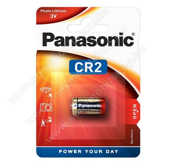 PANASONIC elem (CR2L/1BP, 3V, lítium fotóelem) 1db / csomag