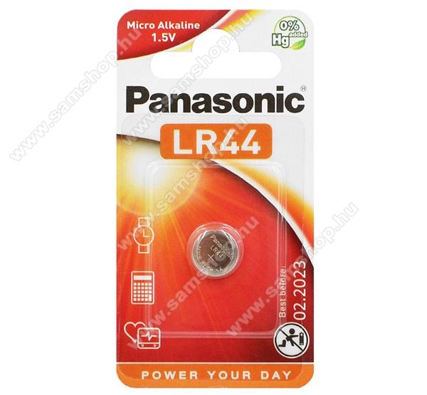 PANASONIC elem (LR44L/1BP, 1.5V, alkáli gombelem) 1db / csomag