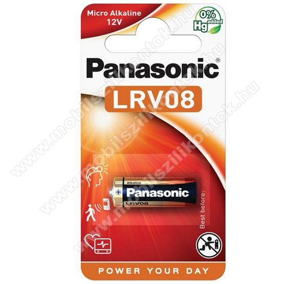 PANASONIC Elem (LRV08, 12V alkáli elem) 1db / csomag