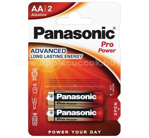 PANASONIC Elem (Pro Power AA, ceruza, 1.5V,szupertartós alkáli elem) 2db /csomag