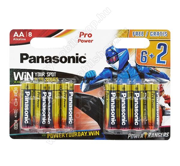 PANASONIC Elem (Pro Power AA, LR6PPG/8BW, alkáli elem) 8db /csomag
