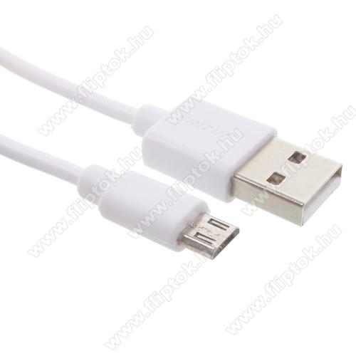 HUAWEI MediaPad T5 10PINZUN adatátvitel adatkábel - USB / micro USB, 1m - FEHÉR