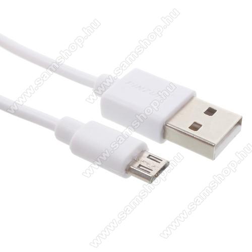SAMSUNG GT-C3330 Champ 2PINZUN adatátvitel adatkábel - USB / micro USB, 1m - FEHÉR