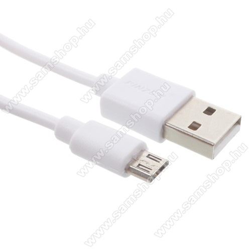 SAMSUNG SM-P905 Galaxy Note Pro 12.2 LTEPINZUN adatátvitel adatkábel - USB / micro USB, 1m - FEHÉR