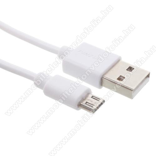 OPPO R17PINZUN adatátvitel adatkábel - USB / micro USB, 1m - FEHÉR
