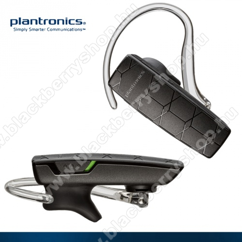 BLACKBERRY 9630 Tour PLANTRONICS EXPLORER 50 BLUETOOTH HEADSET - multipoint, USB töltővel! - FEKETE - GYÁRI