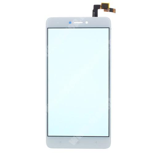 Plexi ablak érintő panellel - FEHÉR - Xiaomi Redmi Note 4X (Global version) - Utángyártott