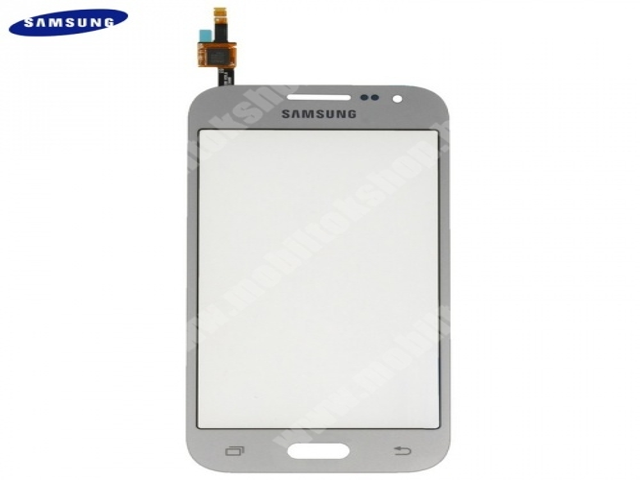 Plexi ablak, érintőpanellel - GH96-07740C - EZÜST - SAMSUNG Galaxy Core Prime (SM-G360)