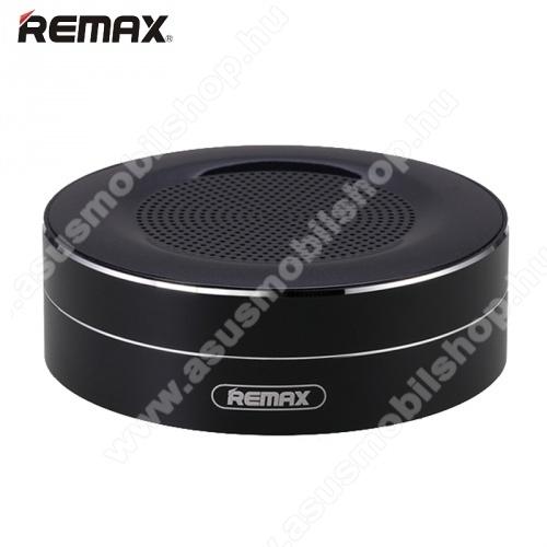 ASUS Zenfone 2 Laser (ZE500KL)REMAX M13 hordozható bluetooth hangszóró - FEKETE - v.4.0, 3,5 jack bemenet, microSD memóriakártyaolvasó, 500mAh akkumulátor - GYÁRI