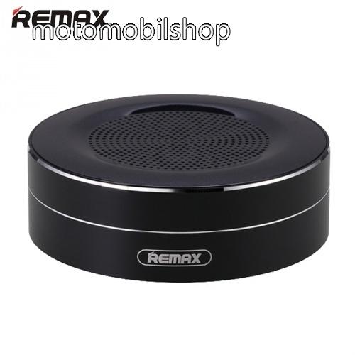 MOTOROLA MPX100 REMAX M13 hordozható bluetooth hangszóró - FEKETE - v.4.0, 3,5 jack bemenet, microSD memóriakártyaolvasó, 500mAh akkumulátor - GYÁRI