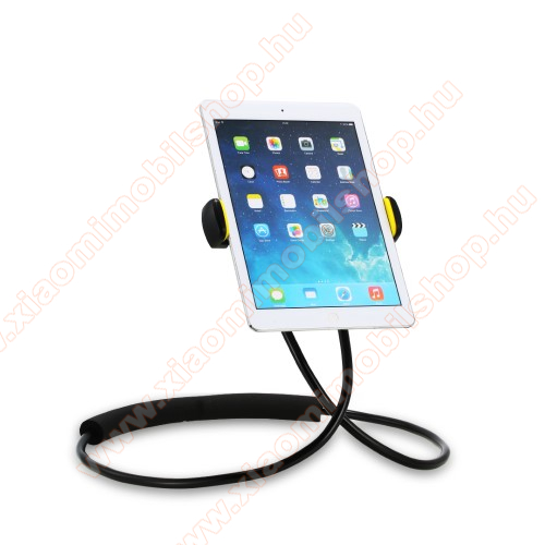 REMAX nyakba akasztható tartó / állvány - 360°-ban forgatható, állítható, asztali tartó, flexibilis kar, derékra / nyakba akasztható - 4-10