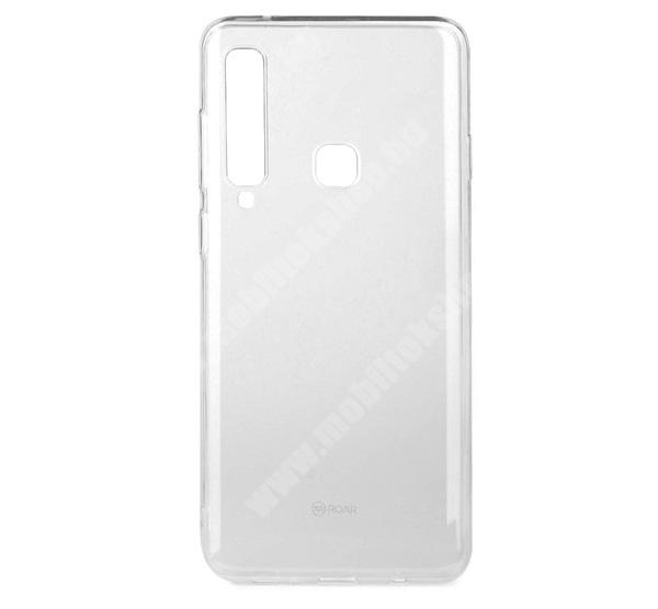 ROAR ALL DAY Szilikon védő tok / hátlap - ÁTLÁTSZÓ - SAMSUNG Galaxy A9 (2018) - GYÁRI