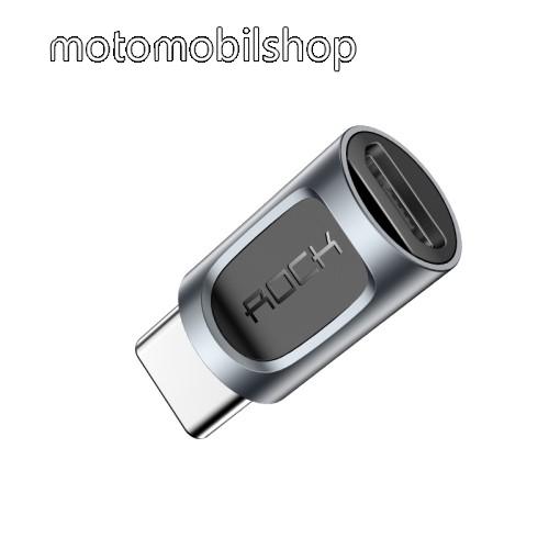 ROCK adapter microUSB 2.0-át USB 3.1 Type C-re alakítja - adatátvitelre is képes - GYÁRI