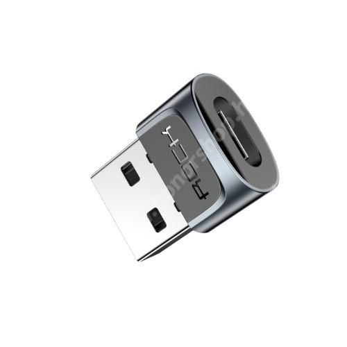 HUAWEI Honor 9 ROCK Type-C Female / USB Male átalakító adapter - GYÁRI