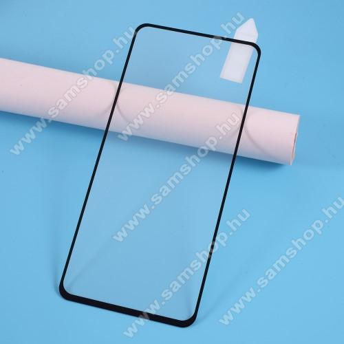 RURIHAI 2.5D előlap védő karcálló edzett üveg, 9H, 0.26mm - FEKETE - A TELJES KIJELZŐT VÉDI! - SAMSUNG Galaxy A51 (SM-A515F) / SAMSUNG Galaxy A51 5G (SM-A516F) - GYÁRI