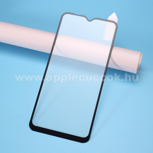 RURIHAI 3D előlap védő karcálló edzett üveg, 0.26mm - FEKETE - Xiaomi Redmi 8 - A TELJES KIJELZŐT VÉDI! - GYÁRI