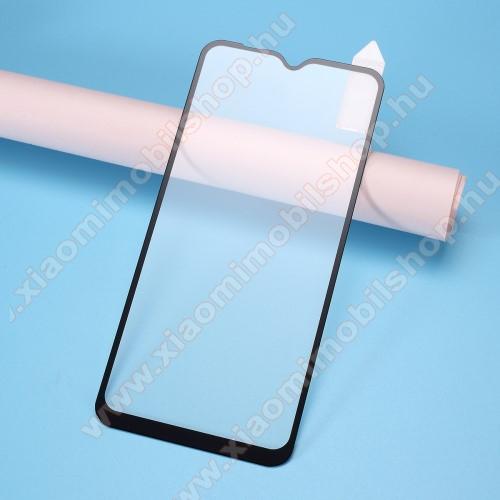 RURIHAI 3D előlap védő karcálló edzett üveg, 0.26mm - FEKETE - Xiaomi Redmi 8A - A TELJES KIJELZŐT VÉDI! - GYÁRI