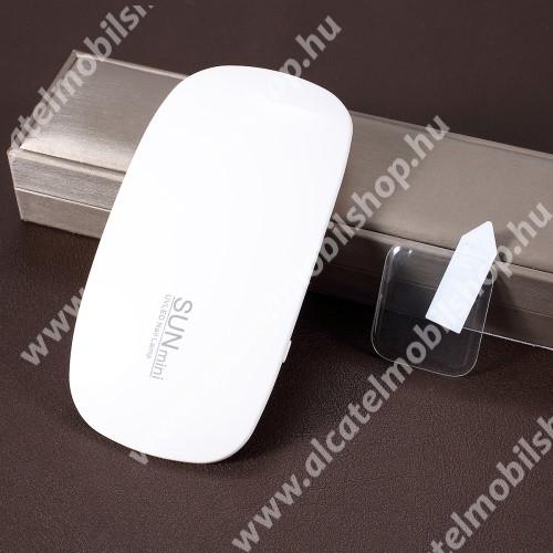 RURIHAI 3D Full Glue UV Liquid előlap védő karcálló edzett üveg, 0.26mm, UV lámpával - ÁTLÁTSZÓ - APPLE Watch Series 4 44mm - GYÁRI