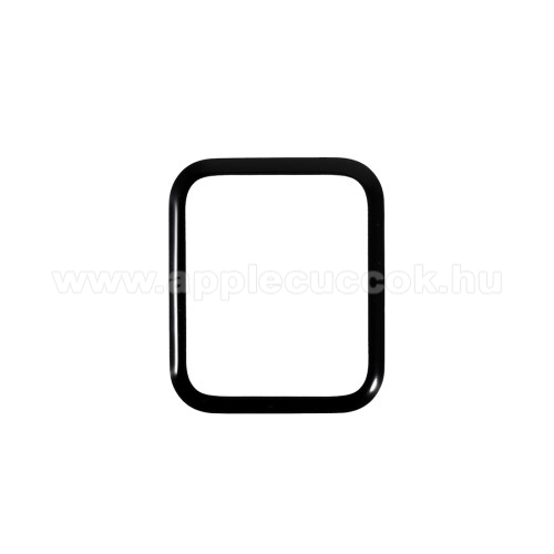 APPLE Watch SE 40mmRURIHAI 3D okosóra képernyővédő fólia - 1db - 3D Curved, A teljes képernyőt védi - FEKETE - Apple Watch Series 6 40mm - GYÁRI